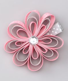 Take a look at the Pink & Gray Clip on #zulily today!