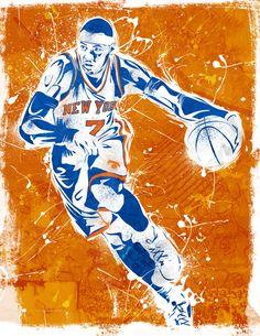 Carmelo Anthony Art'