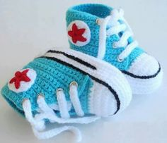 fotos zapatitos botitas sandalias tejidos crochet para beb