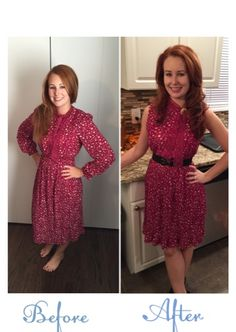 Refashion Co-op: Thanksgiving Day Dress
