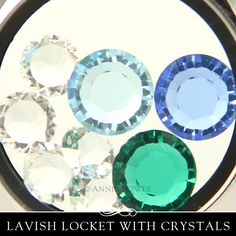 """""""People are like stained - glass windows. They sparkle and shine when the sun is out, but when the darkness sets in, their true beauty is revealed only if there is a light from within."""" - Elisabeth Kubler-Ross  The Lavish Locket (tm) from Annie Howes is like a window of your life journey."""