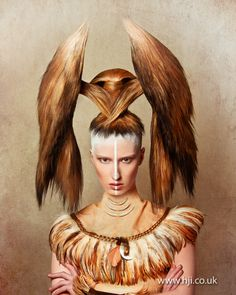 Avant-Garde make up and hair | 2013 avant garde hair hairstyle