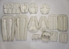 foreign language process of molds with pictures, could be comprehensive if creating a mastermold. Plaster-based