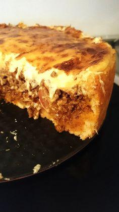 Krämig tacopaj | nouw.com/byjasmineitaliano Minced Meat Recipe, Good Food, Yummy Food, Swedish Recipes, Dessert For Dinner, Quiches, Raw Food Recipes, Brunch, Food Inspiration
