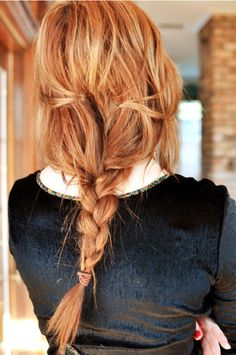 if my hair ever grows long enough, ima doing this!  erin ever after: Braided