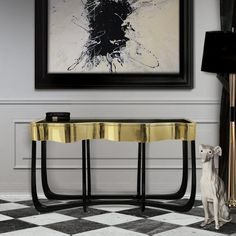 Sinuous Console by Boca do Lobo. Console tables, entryway ideas, halls, home furniture, designer furniture, exclusive furniture, design ideas, home decor ideas, interior design ideas. For more inspirations: http://www.bocadolobo.com/en/news-and-events/