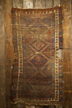 19th Century Kurdish Rug Found in Mississippi.