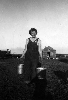 Peg Campbell , farmer, Cape Breton