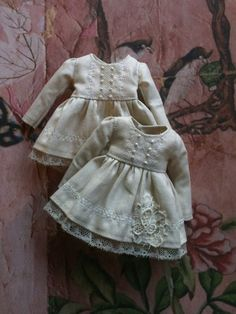 Vintage White overdress