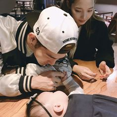 BM AND SOMIN OH SO CUTE