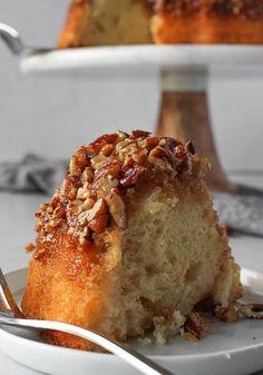 Pecan Pie Bundt Cake Recipe, Southern Pecan Pound Cake Recipe, Pecan Cookie Recipes, Box Cake Recipes, Pecan Cake, Cake Recipes From Scratch, Delicious Cake Recipes, Apple Recipes, Yummy Cakes