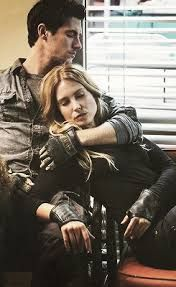 Maggie and Hal from Falling Skies. I love them so much I panic about their well-being (both personal and as a couple) whenever I watch the show now.