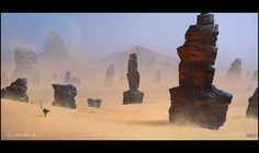 Pillars of the Ancients (Project Dune by Mark Molnar)