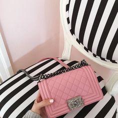 Imagem de chanel, bag, and pink