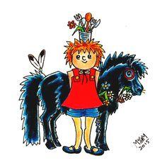 Pien & Pony uit het voorlees / kinderboek PIEN. Nog even geduld, want het verschijnt pas in voorjaar 2016... :) Myrthe v/d Meer