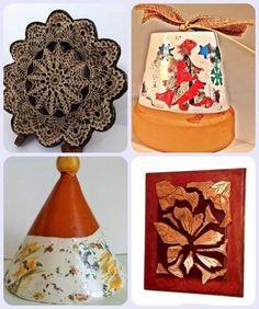 Christmas Bells, Decorative Boxes, Ceramics, Crystals, Create, Unique, Holiday, Handmade, Beautiful