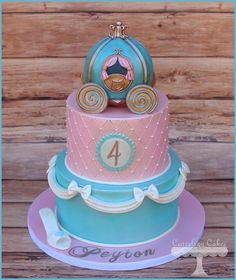 Cinderella Cake  - Cake by Cuteology Cakes