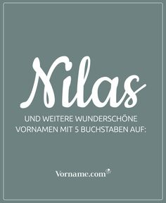 Einprägsam, schlicht, unkompliziert: Tolle Vornamen mit fünf Buchstaben If you like the name Nilas, you could find it in our list of first names for girls and boys with 5 letters … just take a look and let yourself be inspired. # Girls name given name Country Baby Names, Baby Girl Names, Boy Names, First Names, My Little Baby, Baby Love, Name Inspiration, Kids And Parenting, How To Fall Asleep