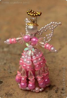 Master-class product Beading Craft Pink Angel Master Class Beads Beads photo 1