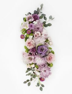 Shay Cochrane / New in the shop: Purple and Pink Floral Styled Stock
