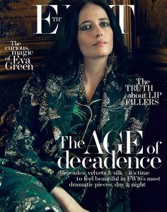 Eva Green Poses in the Most Luxurious Fashions for The Edit September 2016