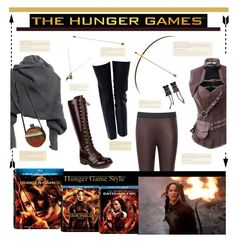 """""""Hunger Games Style"""" by dianefantasy ❤ liked on Polyvore featuring Reiss, Chanel, Mark & Maddux, Hungergames and contestentry"""