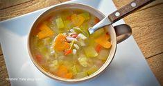 Supa de orez cu legume Cheeseburger Chowder, Soup, Meals, Home, Canning, Zucchini, Kitchens, Meal, Soups