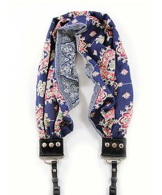 Blue two toned Floral print fabric scarf camera strap, quality, fashion & stylish for men and women - Let's get pretty! Photo Accessories, Camera Accessories, Photography Accessories, Camera Neck Strap, Photo Bag, Floral Print Fabric, Camera Hacks, Camera Photography, Photography Ideas