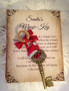 1000 ideas about christmas poems on pinterest free for Santa s magic key craft