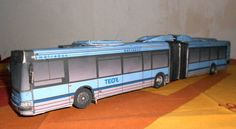 Irisbus Agora L Urban Bus Free Vehicle Paper Model Download…