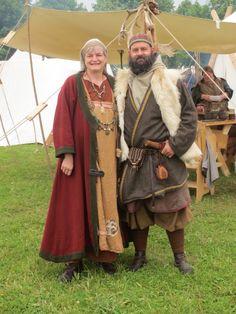 Epochenfest Jülich 2015 - Thordis und Ulfgar für's Familienalbum - Birka-Style Vikings! - Wir grüßen unsere Freunde!