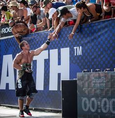 Dan Bailey after the Final Event at The CrossFit Games 2013