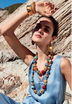 Jose & Maria Barrera-Catalog Starburst Earrings, Gold Statement Earrings, Neiman Marcus, Beaded Jewelry, Big Jewelry, Textile Jewelry, Crystal Jewelry, Jewelry Art, Jewellery