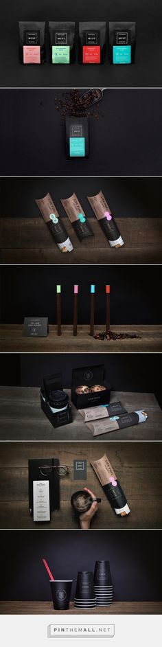 Must packaging branding on Behance by Firmalt curated by Packaging Diva PD. We MUST try this coffee shop out : ) PD