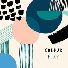 #colourplay Susan Driscoll Pattern designer // follow @shophesby for more inspiration