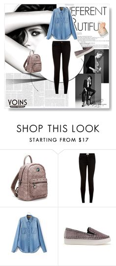 """yoins mini backpack"" by lugavicamina ❤ liked on Polyvore featuring Chanel and yoins"