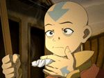 Aang charging by Ace0fredspades