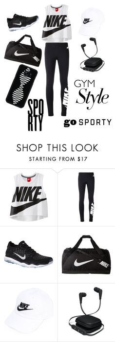 """Sporty"" by owenalivia ❤ liked on Polyvore featuring NIKE, iWorld and Samsung"