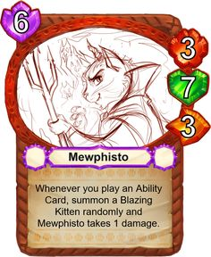 Mewphisto - Catamancer - The 100% cat themed game! - Artist: Rachel Sharp (sharkie19)