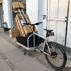 My loved cargo bike loaded with kg. new bessey clamps Cargo Bike, Larry, Stationary, Big
