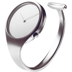 GEORG JENSEN  bangle steel watch. I really want the one that has the diamond face but its 20k..no way Santa( or Joseph) is bringing me that one
