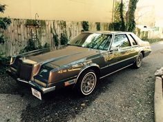 My 1982 Chrysler Imperial.