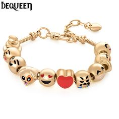 The newest Bracelet, if you like, welcome to check the link:  https://www.aliexpress.com/store/product/Newest-Cute-Funny-Face-Bracelet-Emoji-Charm-Bracelets-Gold-Bead-Jewelry-For-Women-Free-Shipping/2387015_32799074754.html?spm=2114.12010611.0.0.Pma8Qk