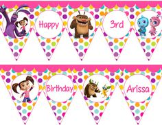 Kate & Mim Mim compleanno festa Banner File di TheLovelyMemories