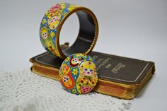 SPECIAL ORDER REINE Brooch Wood Russian style by IGORartPAINTING