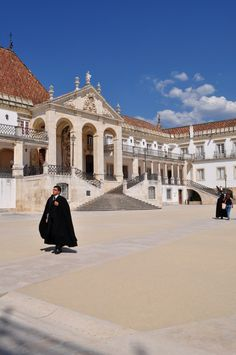 Coimbra, Portugal - First University in Portugal, founded by D. Dinis I, in 1290