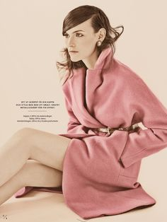 visual optimism; fashion editorials, shows, campaigns & more!: en rosa drom: fia ljungstrom by carl bengtsson for elle sweden august 2013