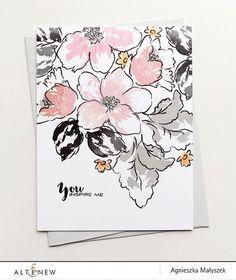 Hibiscus Bouquet Stamp Set – Altenew