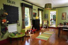 :-O <3 homeschool room