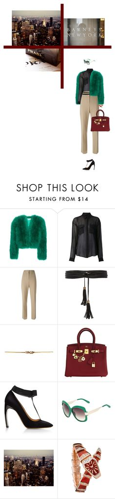 """""""The Upper East Side working code"""" by teofilo-fradizela ❤ liked on Polyvore featuring Yves Saint Laurent, Anthony Vaccarello, Givenchy, Lovers + Friends, Dorothy Perkins, Hermès, Nicholas Kirkwood, Linda Farrow and Bulgari"""